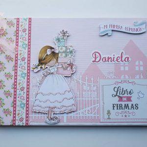 Libro de firmas Modelo Daniela