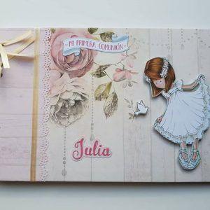 Libro de firmas Modelo Julia